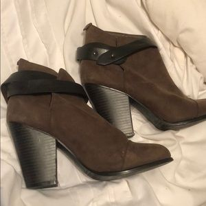 Brown Forever 21 Booties